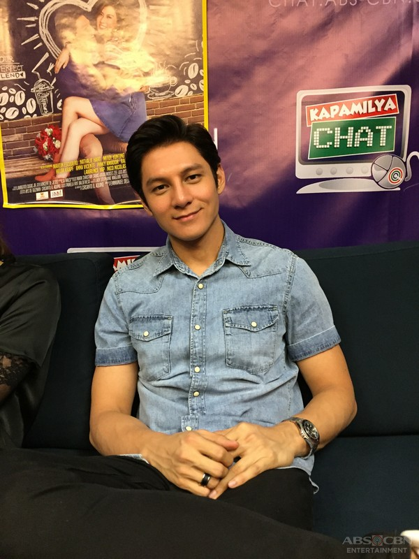 Joseph Marco and Alex Gonzaga on Kapamilya Chat