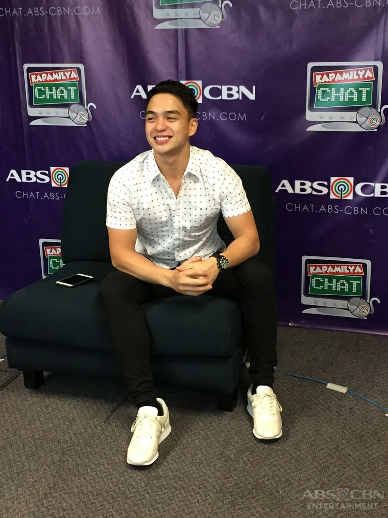 Dominic Roque on Kapamilya Chat for Ipaglaban Mo