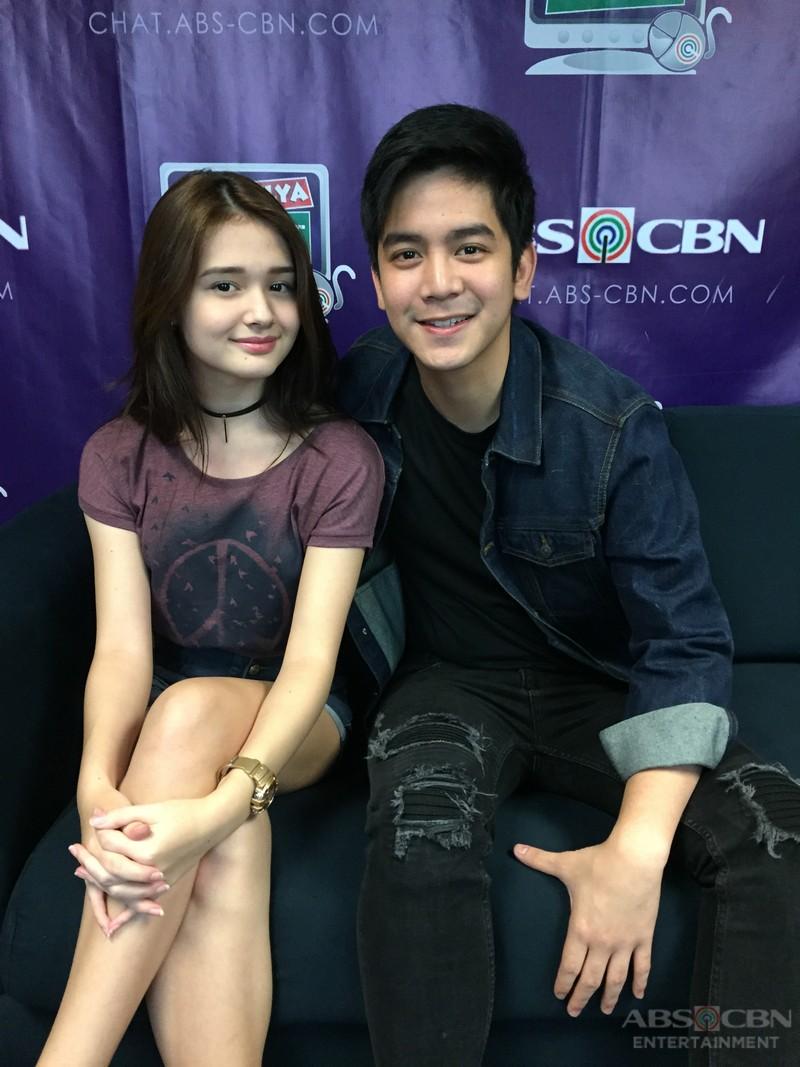 Joshua Garcia and Kira Balinger on Kapamilya Chat