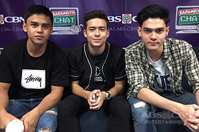 Kapamilya Chat with Jameson, Khalil and Ethan