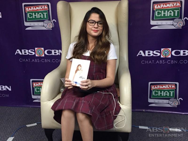Alexa Ilacad on Kapamilya Chat
