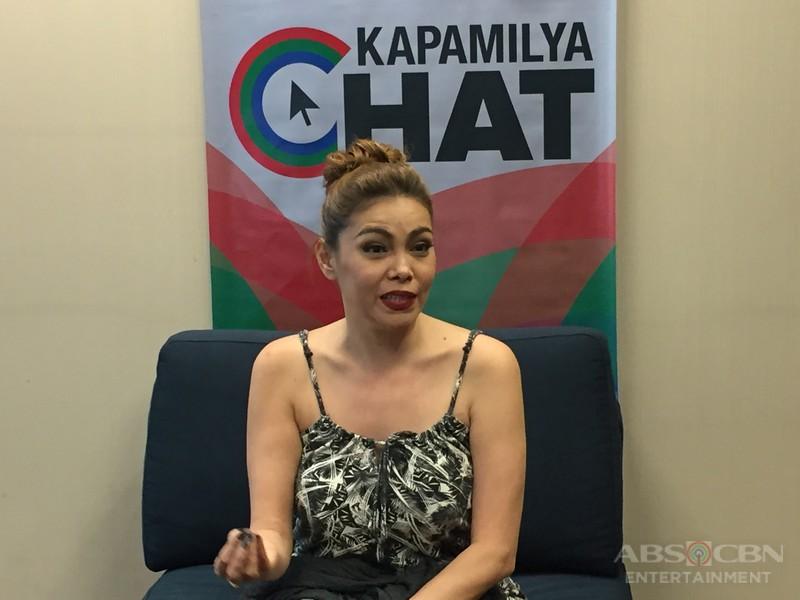 K Brosas On Kapamilya Chat