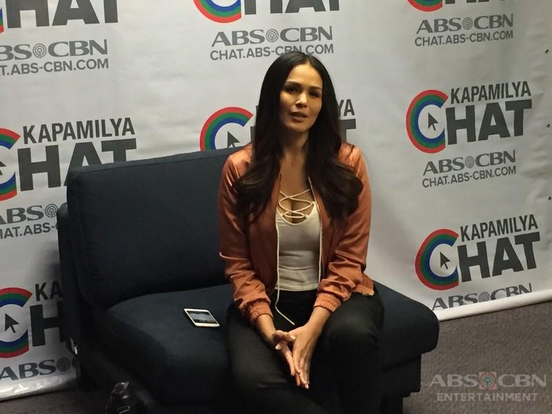Iza Calzado on Kapamilya Chat