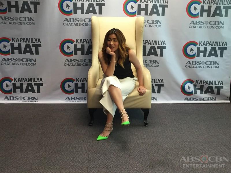 Angeline Quinto on Kapamilya Chat