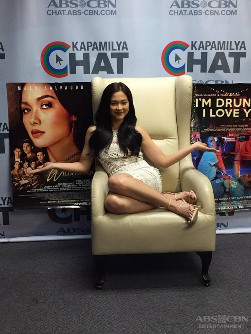 Kapamilya Chat with Maja Salvador for Wildflower