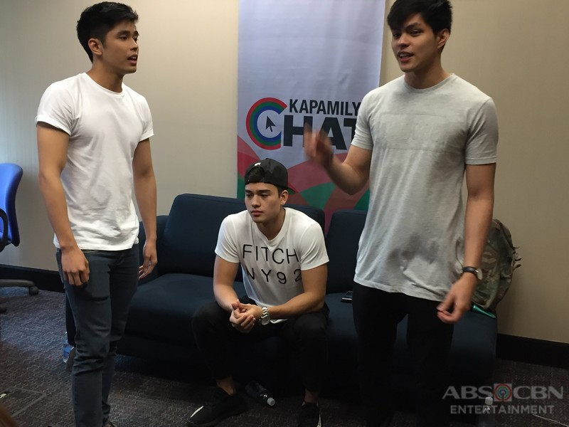 Kapamilya Chat with Marco, Mark and Jules