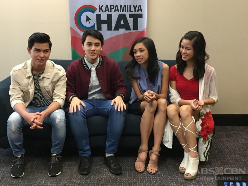 PBB Lucky Season 7 Big 4 Maymay, Kisses, Yong and Edward on Kapamilya Chat