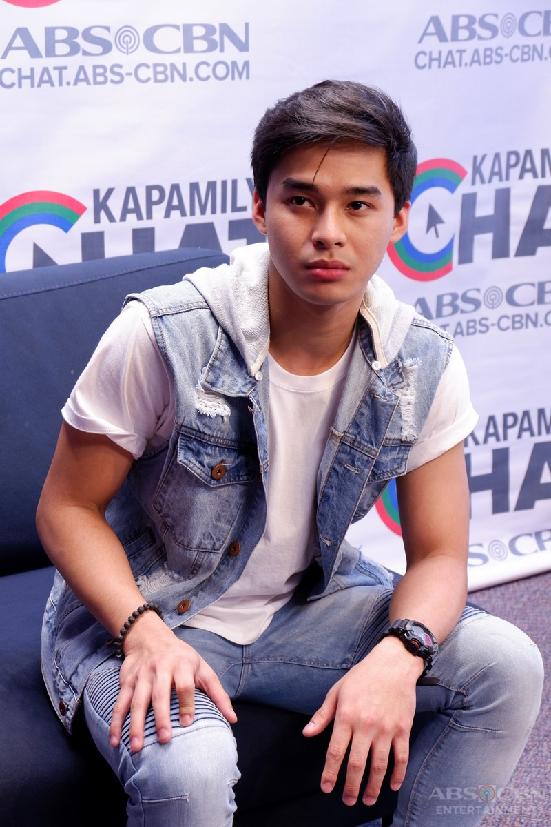 PHOTOS: Kapamilya Chat with Mccoy De Leon for MMK
