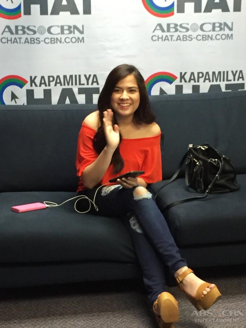 PHOTOS: Kapamilya Chat with Alexa Ilacad
