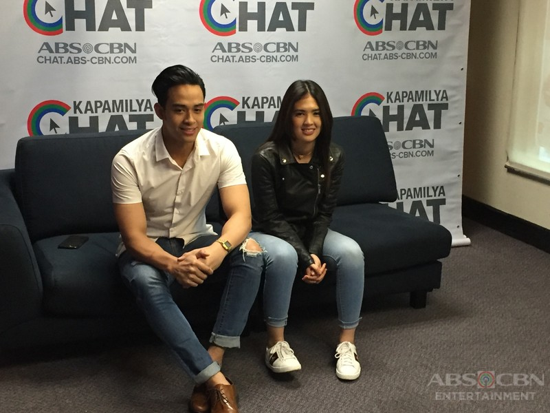PHOTOS: Kapamilya Chat with Sofia and Diego for Pusong Ligaw