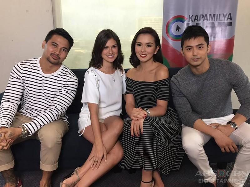 PHOTOS: Kapamilya Chat with Langit Lupa stars Joem, Bianca, Beauty and Enzo