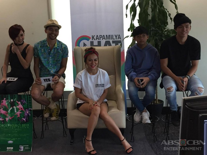PHOTOS: Kapamilya Chat with Teacher Georcelle and The G-Force