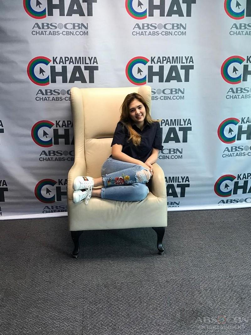 PHOTOS: Sofia Andres On Kapamilya Chat