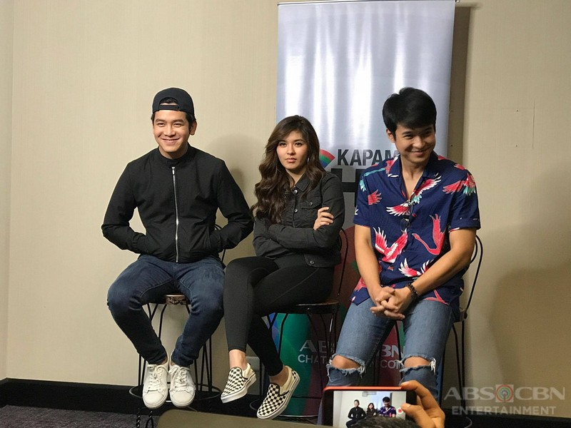 IN PHOTOS: Kapamilya Chat With The God Son Stars Loisa, Jerome And Joshua