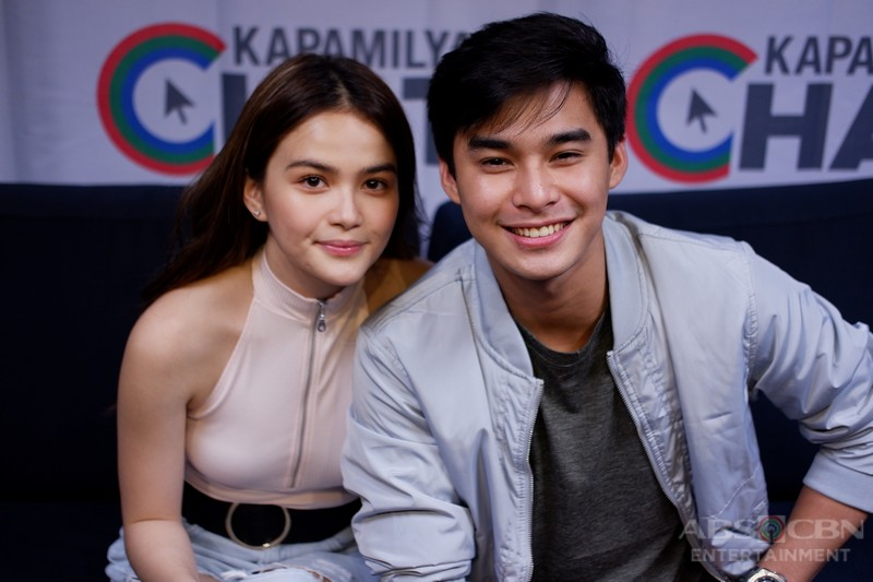 IN PHOTOS: Kapamilya Chat with McCoy and Elisse for The Good Son