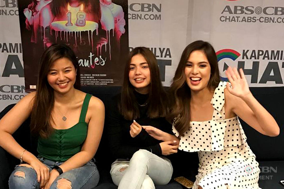 IN PHOTOS: Kapamilya Chat With Miles, Jane and Michelle for The Debutantes