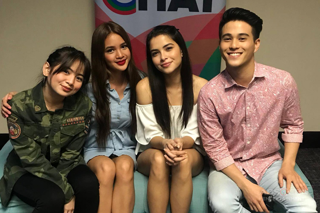 PHOTOS: Kapamilya Chat With Ella, Sammie, Kelley and Franco for Ipaglaban Mo