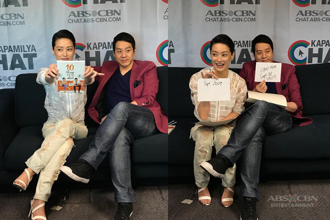 PHOTOS: Kapamilya Chat With Maricar and Richard Poon