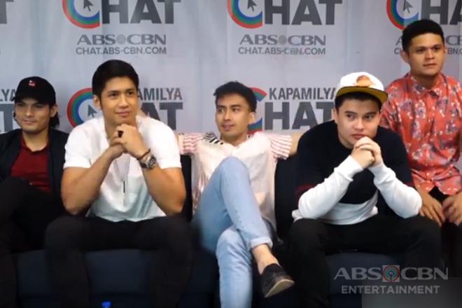 Kapamilya Chat with Aljur, Josh, Tom, Jon and JV for Ipaglaban Mo Diploma