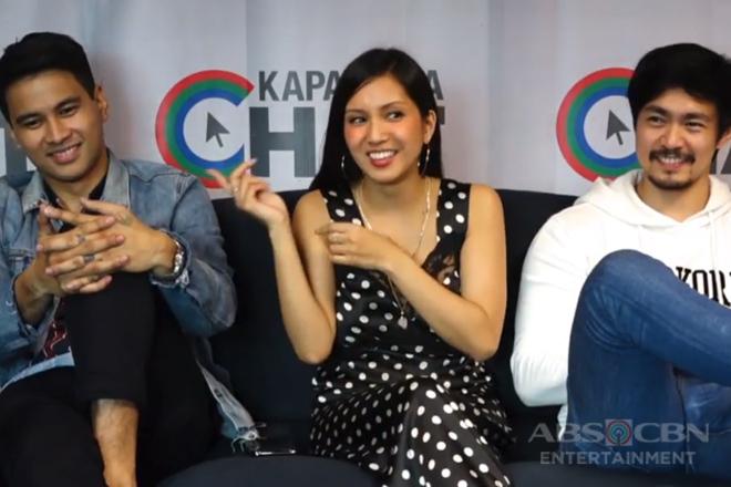 Kapamilya Chat with Joem Bascon, Ron Morales and Roxanne Barcelo for Ipaglaban Mo