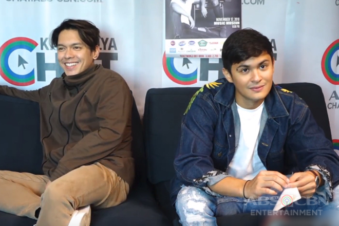 Kapamilya Chat with Matteo Guidicelli and Carlo Aquino for their Concert