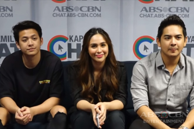 Kapamilya Chat with Empress, Neil and Karl for their movie 'Kahit Ayaw Mo Na'