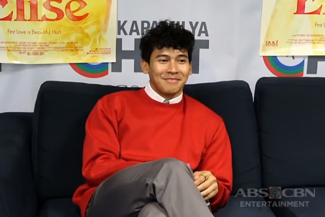Kapamilya Chat with Enchong Dee for his movie Elise