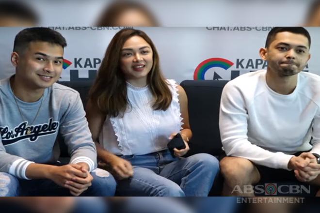 Kapamilya Chat with Meg Imperial, AJ Muhlach and Jerome Ponce for Ipaglaban Mo Hawa