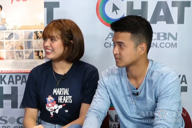 Kapamilya Chat with Jane Oineza and Jerome Ponce for their movie Finding You