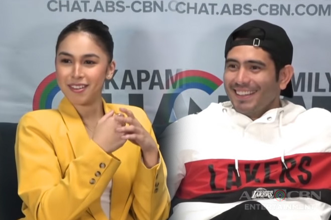 Kapamilya Chat with Gerald Anderson and Julia Barretto for their movie Between Maybes